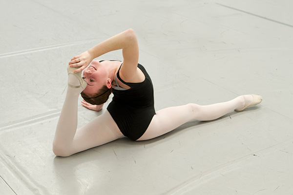Conditioning at Academie de Ballet