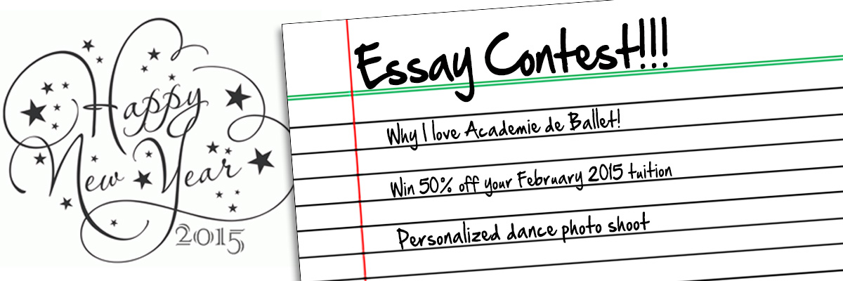 essay contest winner academie de ballet and dance center